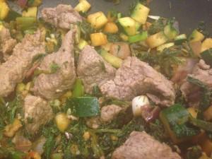 Beef Saute